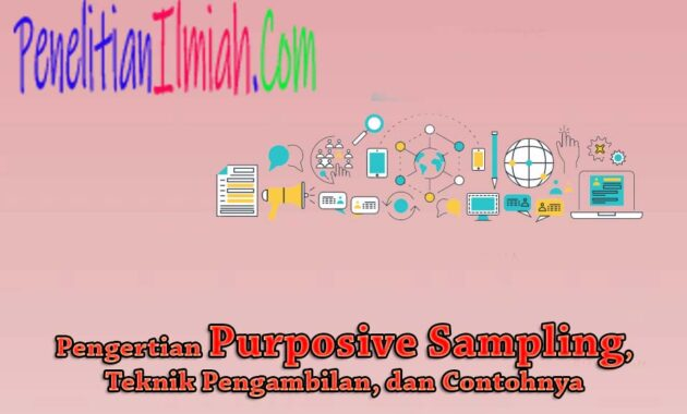 Purposive Sampling Adalah