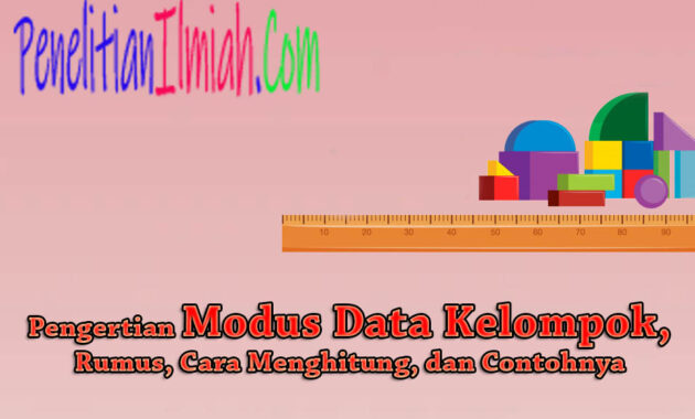 Modus Data Kelompok
