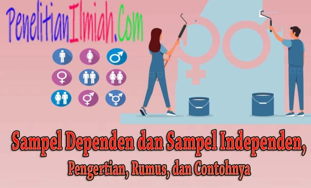 Sampel Dependen dan Sampel Independen