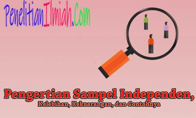 Contoh Sampel Independen