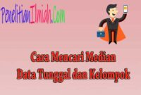 Cara Menghitung Median Data Tunggal dan Median Data Kelompok